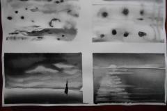 Cours de dessin - Encre de chine - L'arbre - 2015 - 2016 - 03