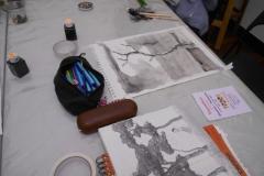 Cours de dessin - Encre de chine - L'arbre - 2015 - 2016 - 07