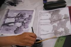 Cours de dessin - Encre de chine - L'arbre - 2015 - 2016 - 09