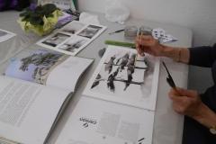Cours de dessin - Encre de chine - L'arbre - 2015 - 2016 - 14
