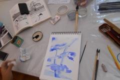 Cours de dessin - Encre de chine - L'arbre - 2015 - 2016 - 15