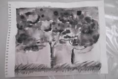 Cours de dessin - Encre de chine - L'arbre - 2015 - 2016 - 22