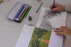 Cours de dessin - La perpective à un point de fuite - 2015 - 05