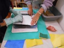 Cours de Lithographie - Thème Amsterdam - 2016 -09