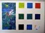 Stage recherche sur la couleur - La palette de Chagall - Février 2019