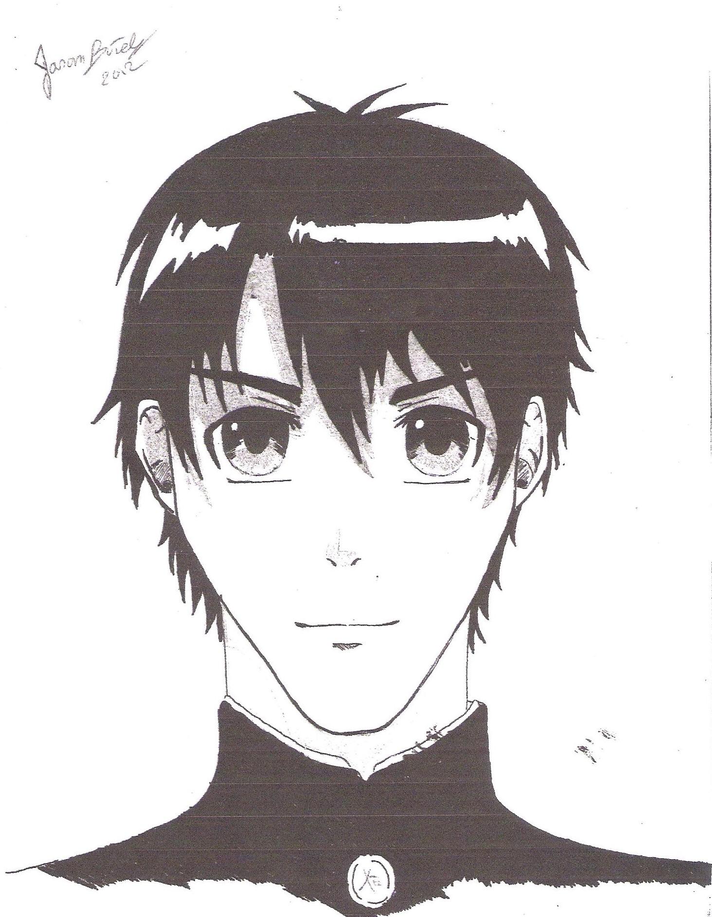 dessin manga jason butel - Dessin Manga